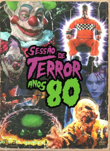 dvd sessao de terror anos 80 c/cards - opc - bonellihq n20