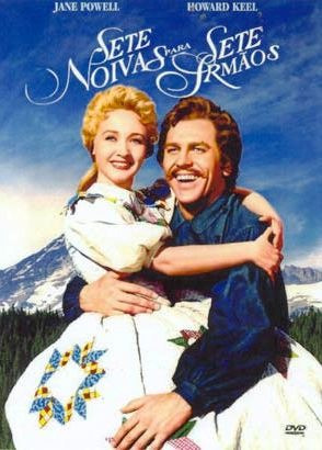 dvd sete noivas para sete irmãos, jane powell howard keel +