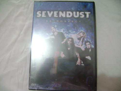dvd  sevendust retrospect  lacrado