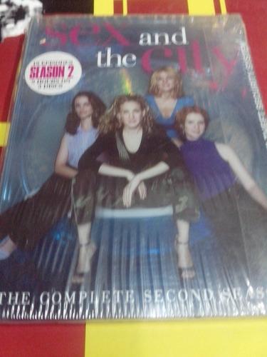 dvd - sex an the city - segunda temporada