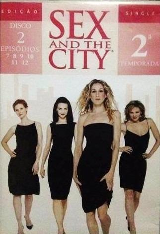 dvd sex and the city 2ª temporada disco 2 novo lacrado