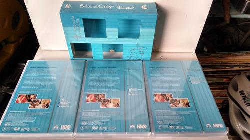 dvd sex and the city 4ª temporada completa com 3 dvds