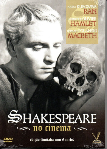 dvd shakespeare no cinema com cards - versatil bonellihq g19