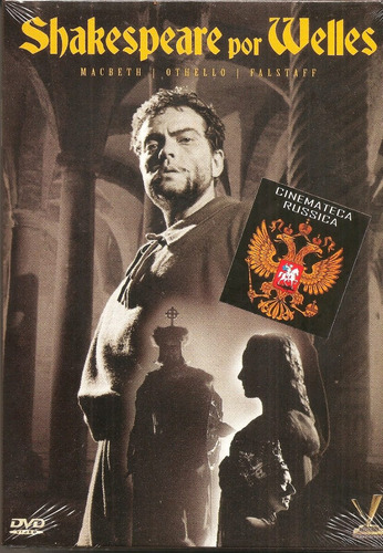 dvd shakespeare por welles 2 dvds macbeth othello fallstaff+