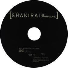 dvd shakira mtv unplugged desenchufado en concierto