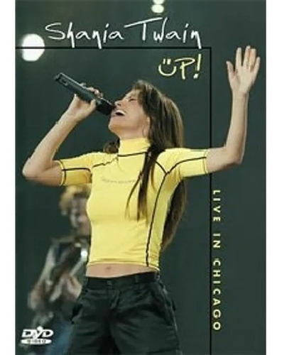 dvd shania twain up! live in chicago