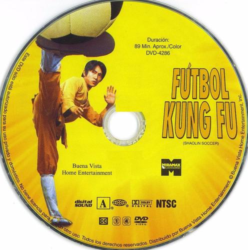 dvd shaolin soccer futbol kung fu