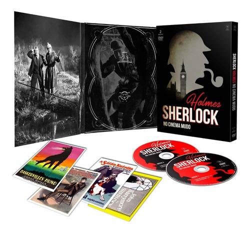 dvd sherlock holmes no cinema mudo c/cards opc bonellihq m20