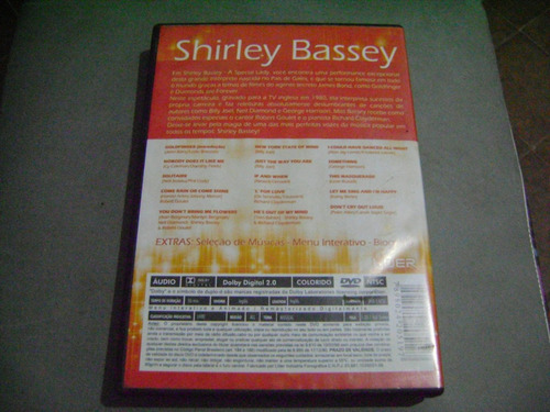 dvd shirley bassey a special lady-e6b4