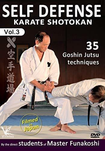 dvd : shotokan karate 3: 35 goshin jutsu self-defense