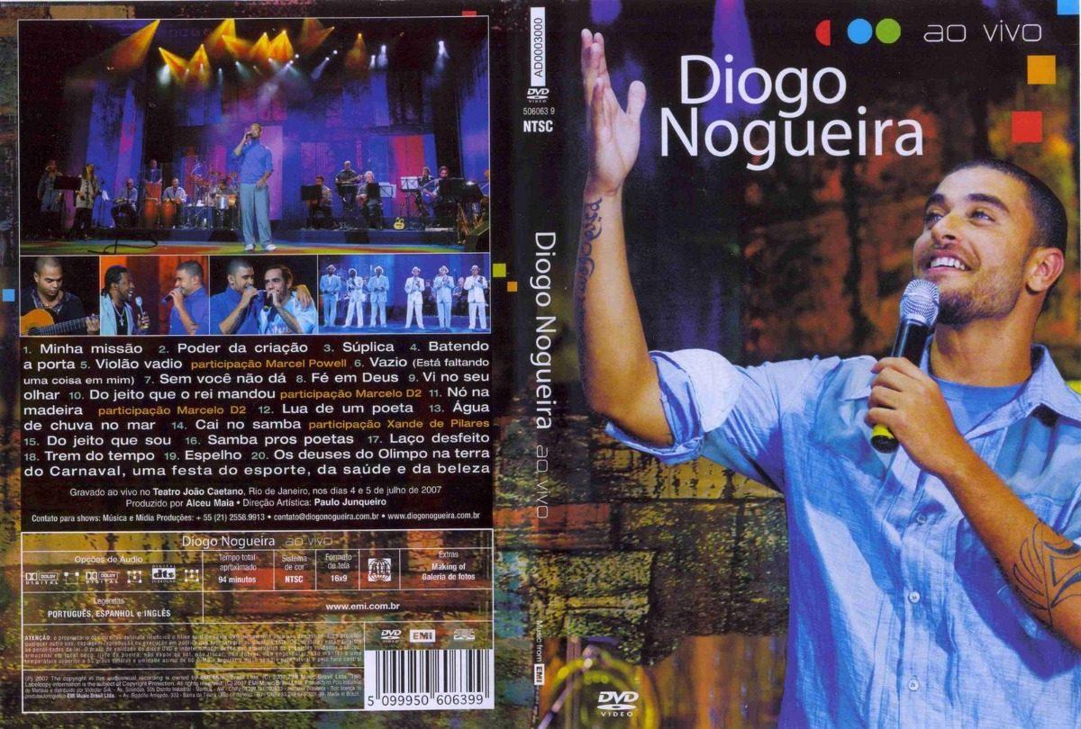 audio dvd diogo nogueira ao vivo