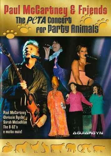 dvd show paul mccartney & friends - the peta concert