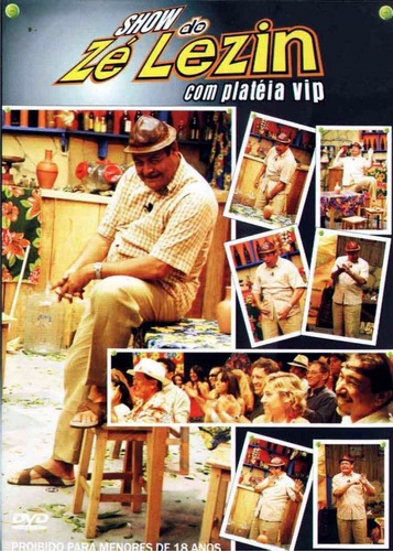 dvd show zé lezin com plateia vip vol.1 original