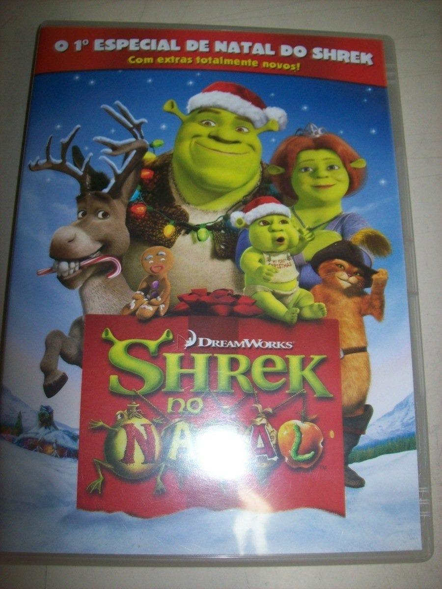 dvd shrek especial de natal