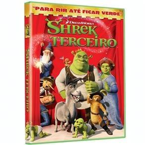 dvd shrek terceiro  (lacrado de fabrica)