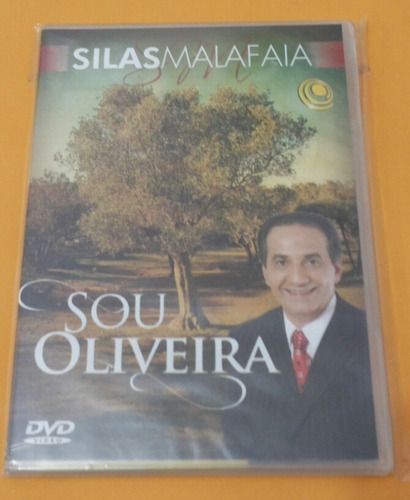 dvd silas malafaia - sou oliveira [original]