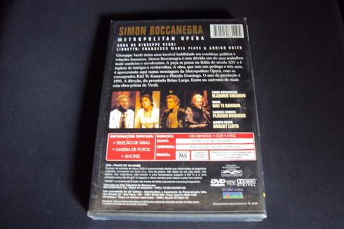 dvd simon boccanegra - giuseppe verdi  (novo)  lacrado