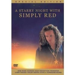 dvd-simply red-a starry night with