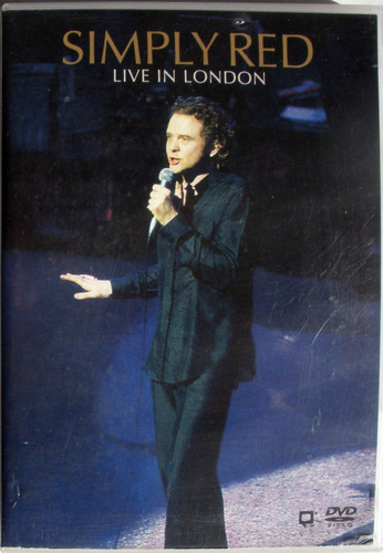 dvd - simply red - live in london