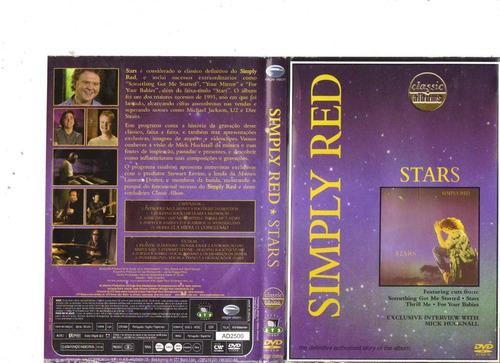dvd simply red - stars, 2004 - original