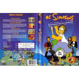 Dvd Simpsons - Passagem Para Os Camarins