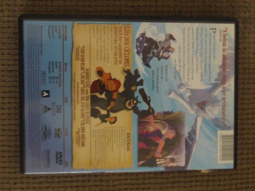 dvd - sinbad - a lenda dos sete mares