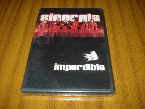 dvd sinergia / imperdible (nuevo y sellado)
