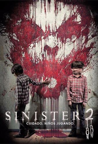 dvd sinister 2 de ciaran foy nueva original estreno