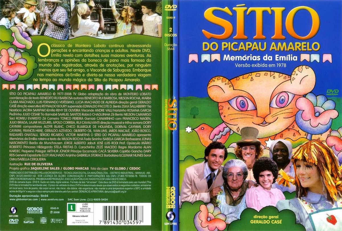 dvd sitio do pica-amarelo gratis