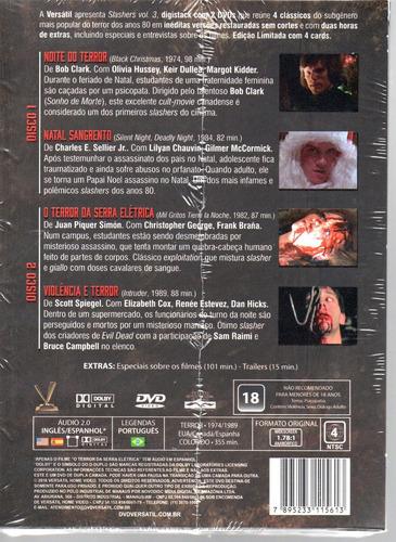 dvd slashers volume 3 com cards - versatil - bonellihq l19