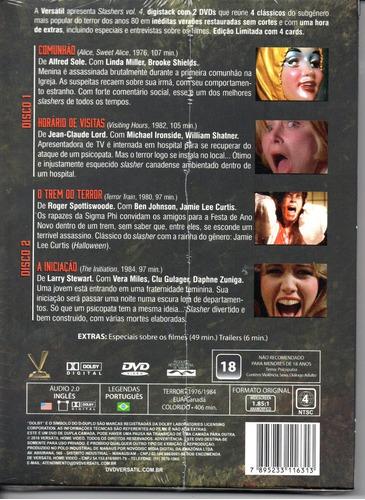 dvd slashers volume 4 com cards - versatil - bonellihq a19