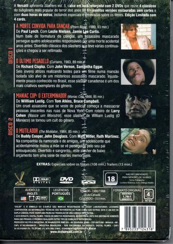 dvd slashers volume 5 com cards - versatil - bonellihq f19