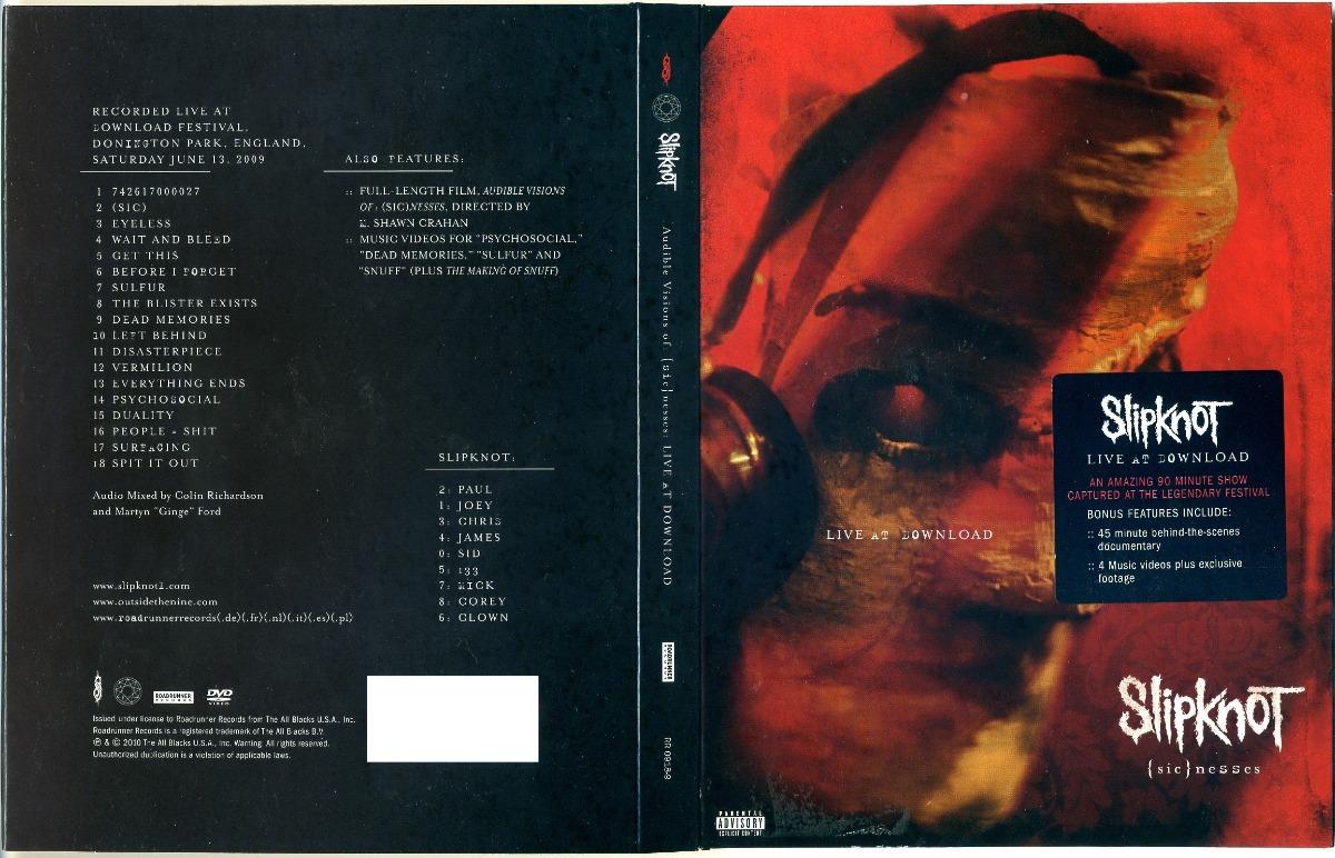 2009 DVD BAIXAR SLIPKNOT