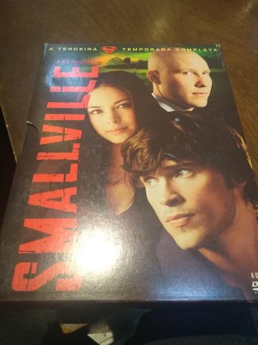 dvd smallville - 3ª temporada - 6 dvds