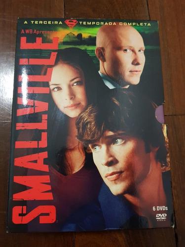dvd smallville - 3ª temporada - original