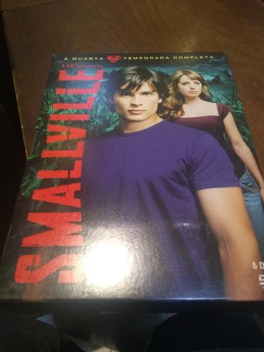 dvd smallville - 4ª temporada - 6 dvds