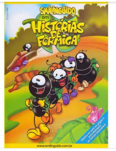 dvd smilinguido em história de formigas