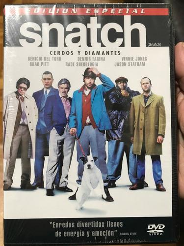 dvd snatch / cerdos y diamantes / de guy ritchie