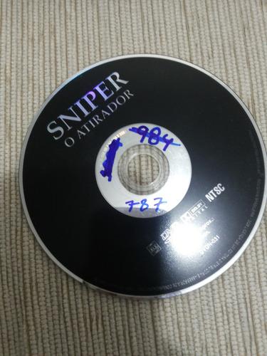 dvd sniper - o atirador (seminovo) o.estado c. garantia