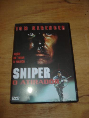 dvd - sniper - o atirador - tom berenger