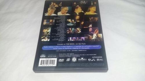 dvd-só pra contrariar-acustico-com encarte interno-otimo est