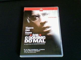 dvd sob o dominio do mal