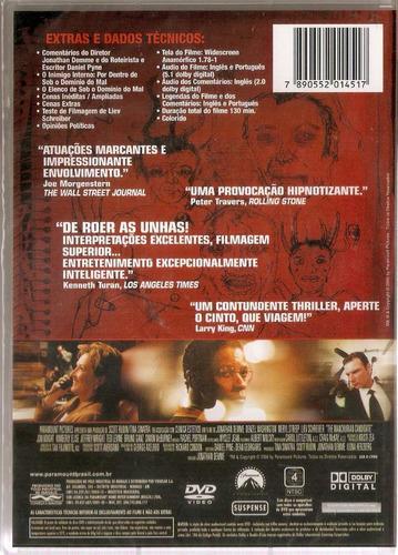 dvd sob o domínio do mal - denzel washington - novo***