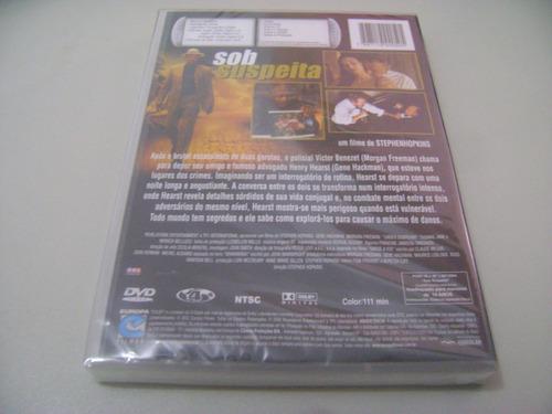 dvd sob suspeita