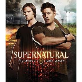 Dvd Sobrenatural - Supernatural  A 8ª Temporada Completa
