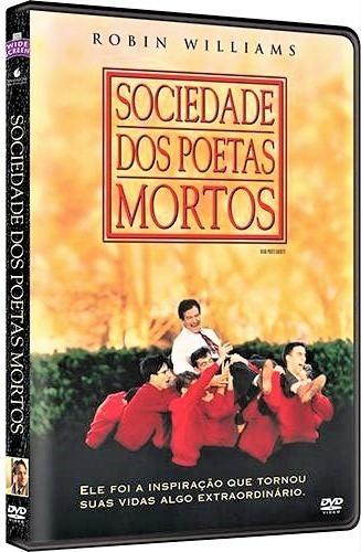 dvd sociedade dos poetas mortos, c robin williams  1989 +