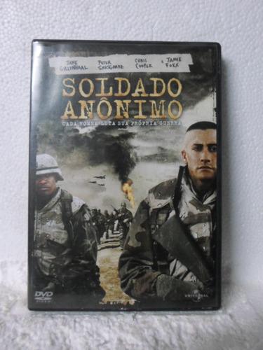 dvd soldado anonimo - original