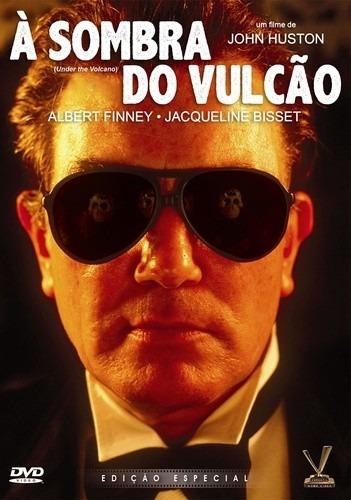 dvd à sombra do vulcão, de john huston c jacqueline bisset +