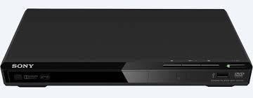 dvd sony con puerto usb control cables cargador