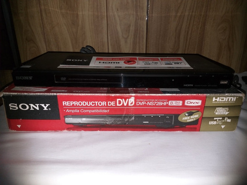 dvd sony dvp-ns728hp impecable